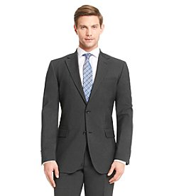 John Bartlett Men's Black Stretch Pindot Suit Separate Jacket