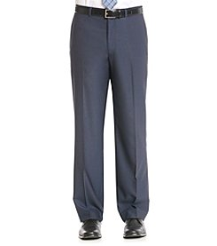 John Bartlett Men's Blue Stretch Pindot Suit Separate Pant