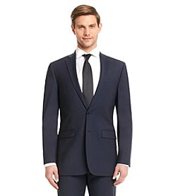 Calvin Klein Men's Navy X-Fit Suit Separates Jacket