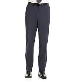 Calvin Klein Men's Navy X-Fit Stretch Suit Separates Pants