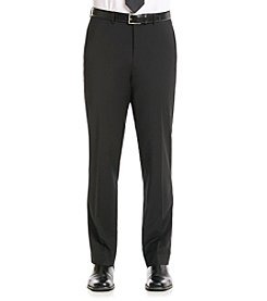 Calvin Klein Men's Black X-Fit Stretch Suit Separate Pant