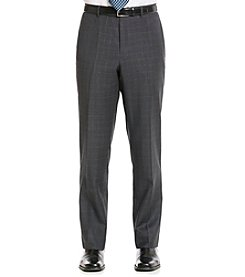 Tommy Hilfiger® Men's Grey Plaid Suit Separates Pants