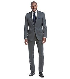 Nick Graham® Men's Gunmetal Solid Suit Separates