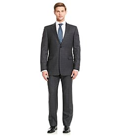 Tommy Hilfiger® Men's Grey Plaid Suit Separates