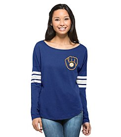 47 Brand ® MLB® Milwaukee Brewers  Women's Long Sleeve Tee