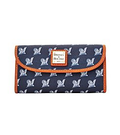 Dooney & Bourke® MLB® Milwaukee Brewers Continental Clutch
