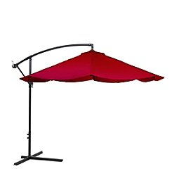 Trademark Global Pure Garden 10' Aluminum Hanging Umbrella