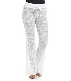 Miken® Crochet Cover-Up Beach Pants