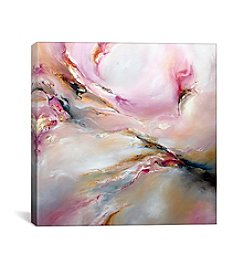 Pink Haze by JA Art Canvas Print