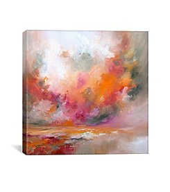 Color Burst by JA Art Canvas Print