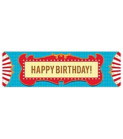 Carnival Happy Birthday Banner