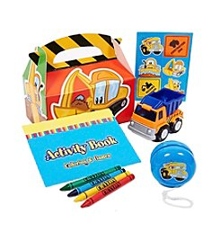 Construction Pals Filled Party Favor Box - Set of 4