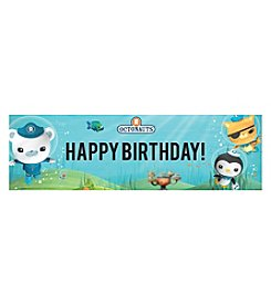Octonauts Sea Life Happy Birthday Banner