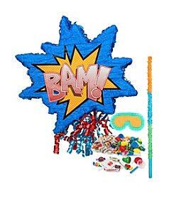 Superhero Comics Pinata Kit
