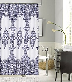 Dainty Home Happy Summer Shower Curtain