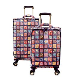 J World® Seasons Bella Collaboration 2-pc. Luggage Set