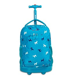 J World® Puppy Sunny Rolling Backpack