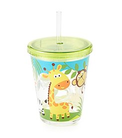 Living Quarters Zoo Animal Tumbler with Straw