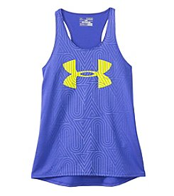 Under Armour® Girls' 7-16 Run Logo Tank