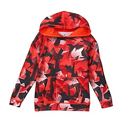 Exertek® Boys' 4-7 Long Sleeve Splat Printed Fleece Hoodie