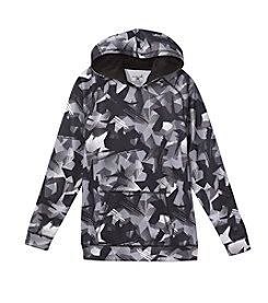 Exertek® Boys' 8-20 Long Sleeve Splat Printed Fleece Hoodie
