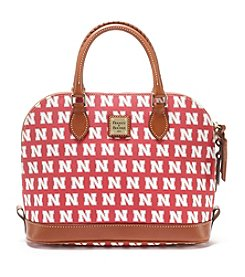 Dooney & Bourke® NCAA® Nebraska Cornhuskers Zip Satchel