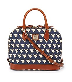 Dooney & Bourke® NCAA® West Virginia Zip Satchel