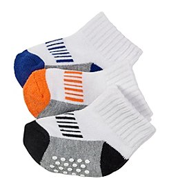 Cuddle Bear® Baby Boys Gripper Socks