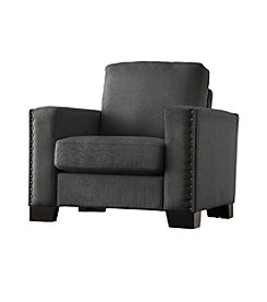 Home Interior Everett Nailhead Accent Armchair