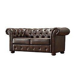Home Interior Beacon Hill Button Tufted Chesterfield Loveseat