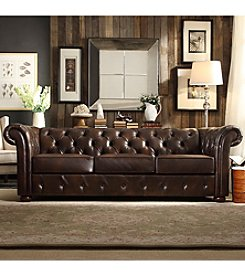 Home Interior Beacon Hill Button Tufted Chesterfield Sofa