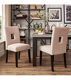 Home Interior Firenza Set of 2 Contemporary Dining Chars