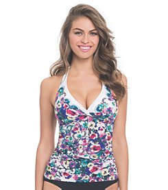 Profile by Gottex® Fuji Halter Tankini Top
