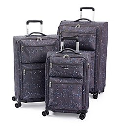Ciao! Lightweight Grey Check Luggage Collection