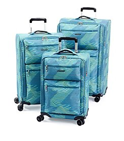 Ciao! Lightweight Teal Wave Luggage Collection