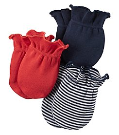 Carter's® Baby Boys' 3-Pack Striped Mittens
