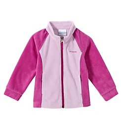 Columbia Girls' 2T-16 Benton Springs™ Colorblock Fleece Jacket