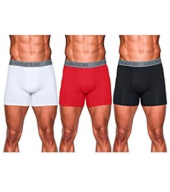 Under Armour® Men's 3-Pack Charged Cotton® Boxerjock® Briefs