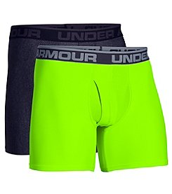 Under Armour® Men's 2-Pack Heatgear® Boxerjock® Briefs