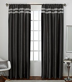 Exclusive Home Set of 2 Glitz Window Curtain Panels