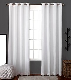 Exclusive Home Set of 2 Loha Window Curtain Panels