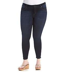 Celebrity Pink Plus Size Low Rise Ankle Skinny Jeans
