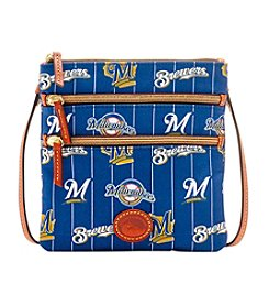 Dooney & Bourke® MLB® Milwaukee Brewers Triple-Zip Crossbody