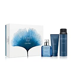 Calvin Klein ETERNITY AQUA For Men Gift Set (A $130 Value)