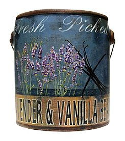 A Cheerful Giver 20 oz. Farm Fresh Lavender Vanilla Candle in Ceramic Jar