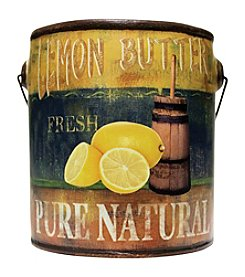A Cheerful Giver 20 oz. Farm Fresh Lemon Butter Candle in Ceramic Jar