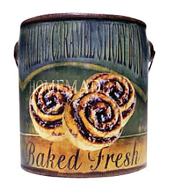 A Cheerful Giver 20 oz. Farm Fresh Praline Caramel Candle in Ceramic Jar