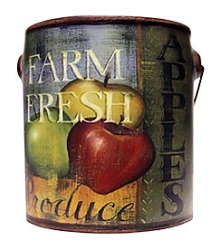 A Cheerful Giver 20 oz. Farm Fresh Juicy Apple Candle in Ceramic Jar