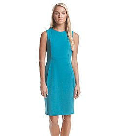 Calvin Klein Scuba Crepe Dress