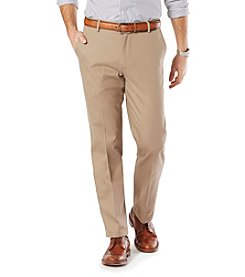 Dockers Signature Khaki Stretch Straight Fit Flat Front Pant